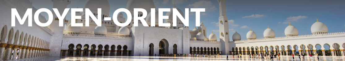Brochures Destination Moyen-Orient