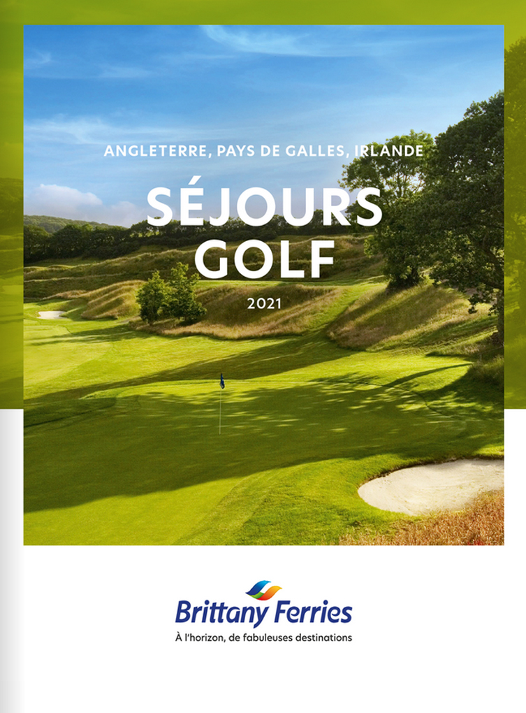 BRITTANY FERRIES - SÉJOURS GOLF 2021