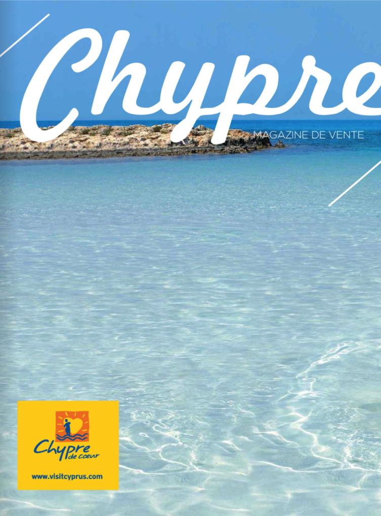 le magazine de vente de l'Office de Tourisme de Chypre