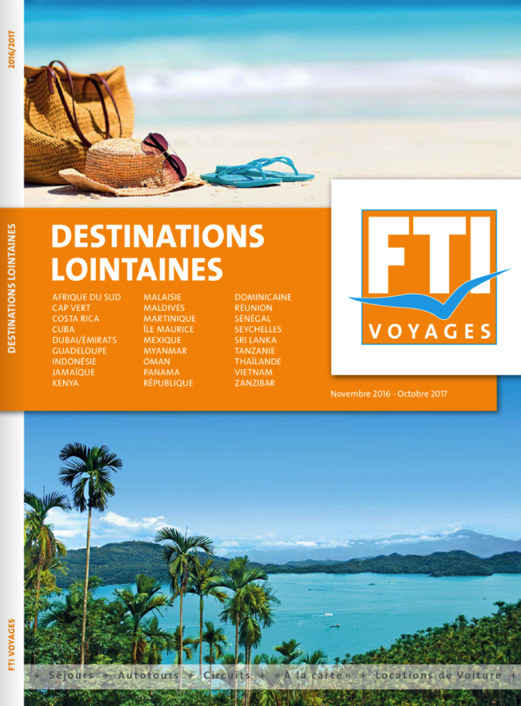 FTI Voyages Destinations lointaines