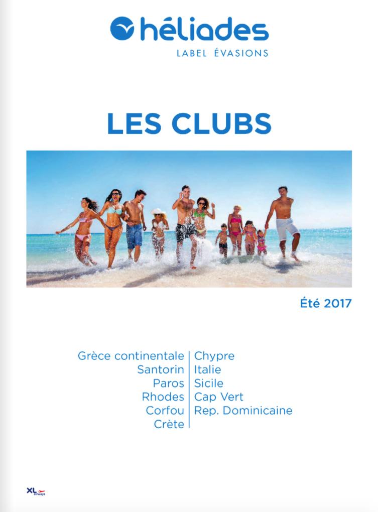 Héliades Les clubs Eté 2017