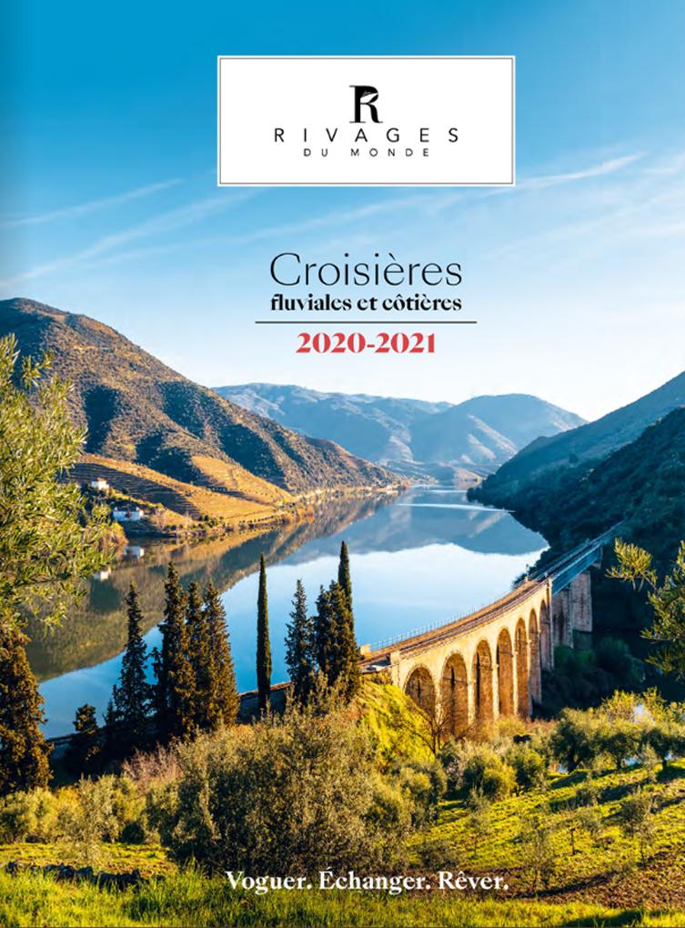 Les brochures des Croisières Rivages du Monde