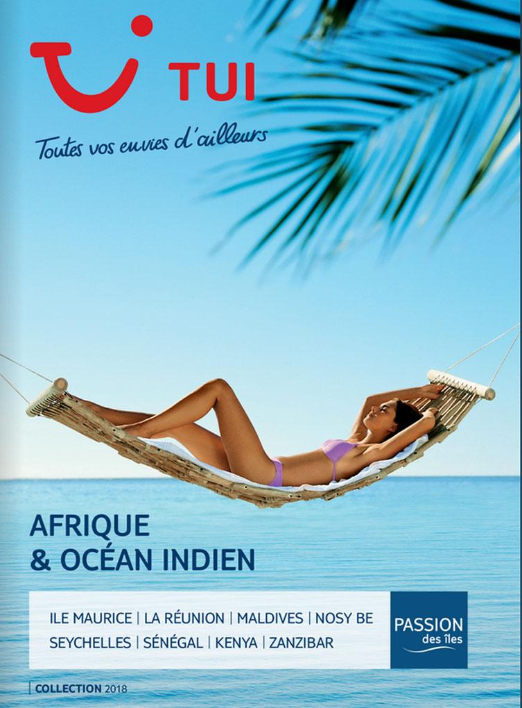 catalogue TUI Afrique & Océan Indien