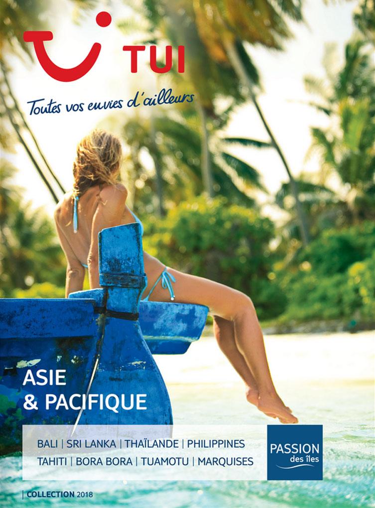 catalogue TUI Asie & Pacifique
