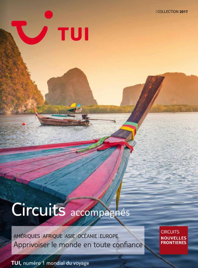 TUI Circuits Nouvelles Frontières