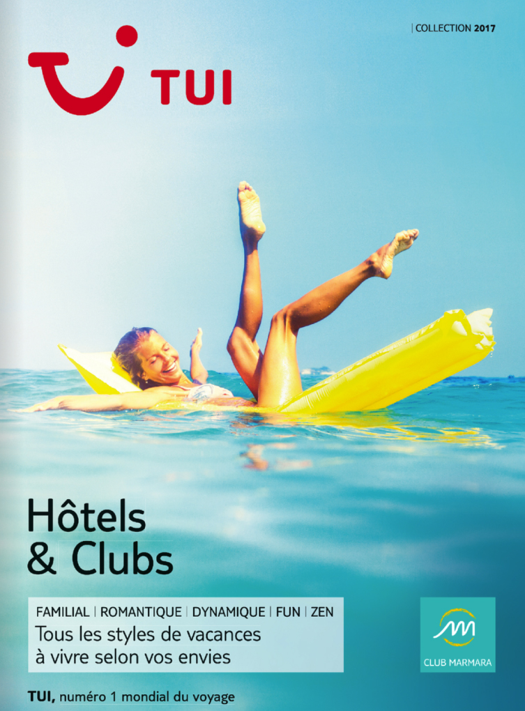 catalogue TUI Hôtels & Clubs