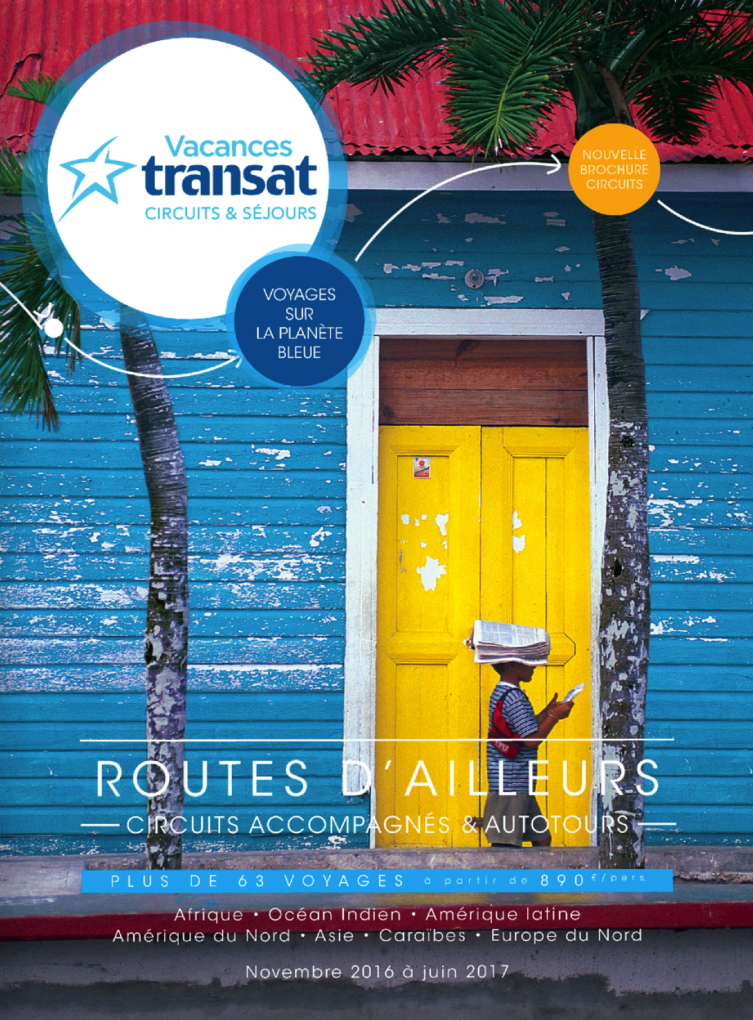 Brochure Vacances Transat Routes d'Ailleurs Hiver