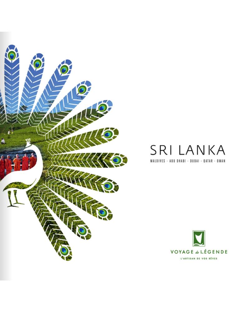 Brochure Voyage de Légende Sri Lanka