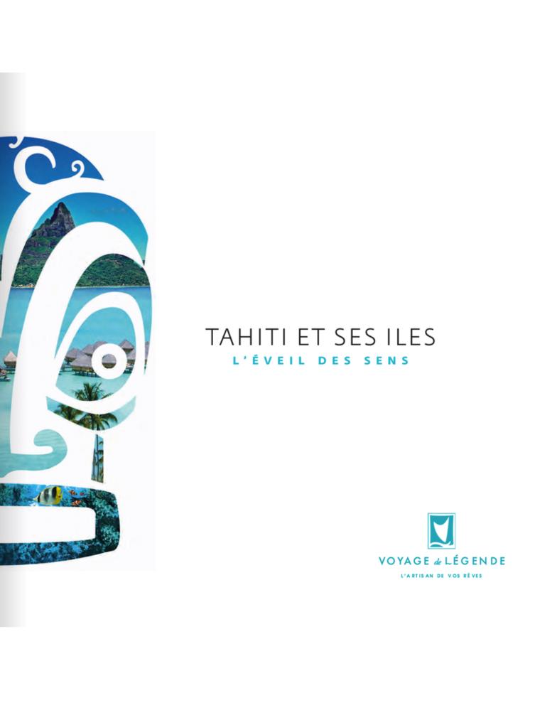 Brochure Voyage de Légende Tahiti