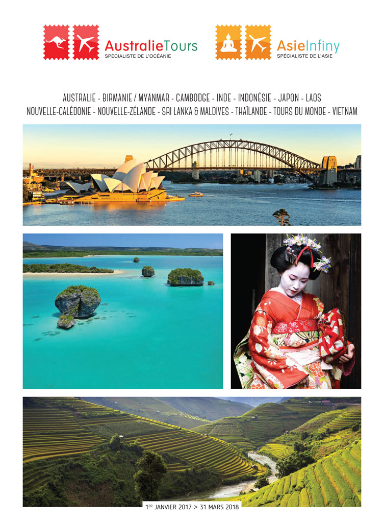 Catalogue Australie Tours Asie Infiny