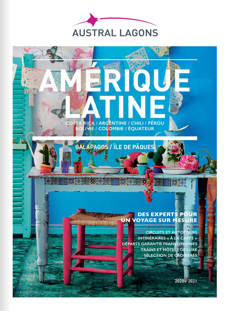 Brochure Austral Lagons Amérique Latine