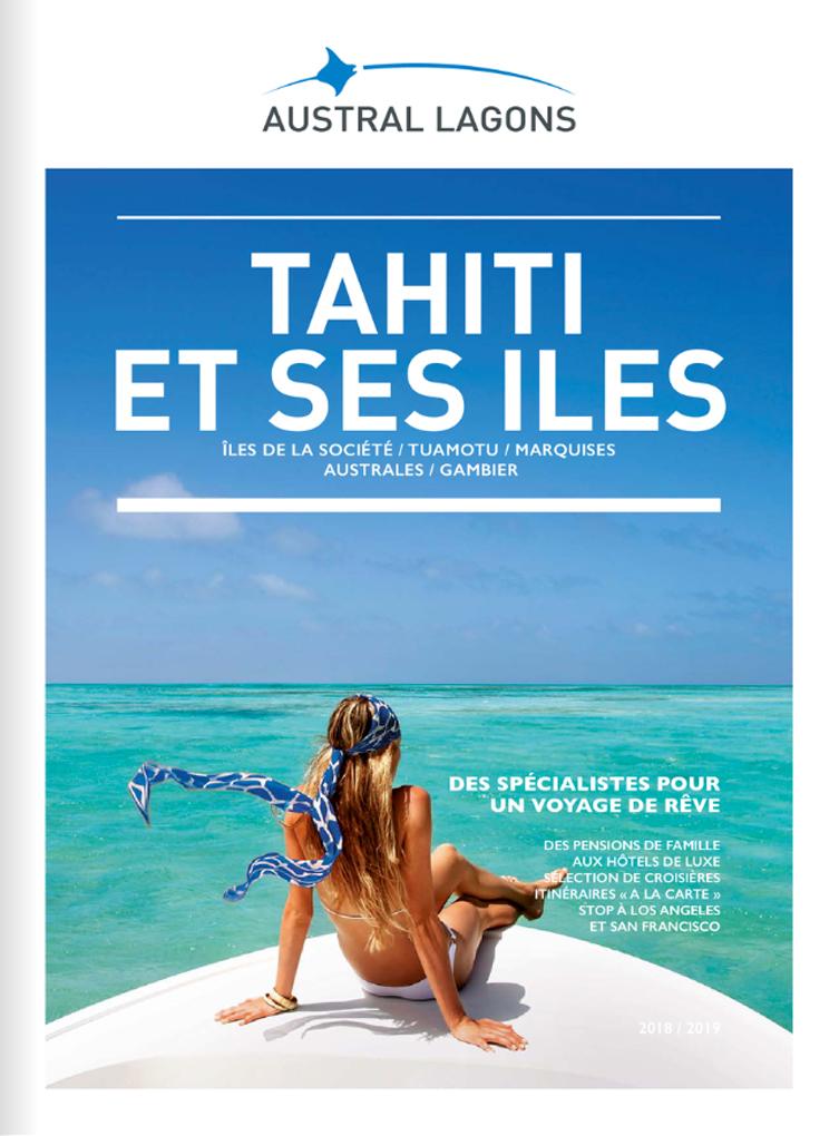 Austral Lagons, les brochures 2018-2019