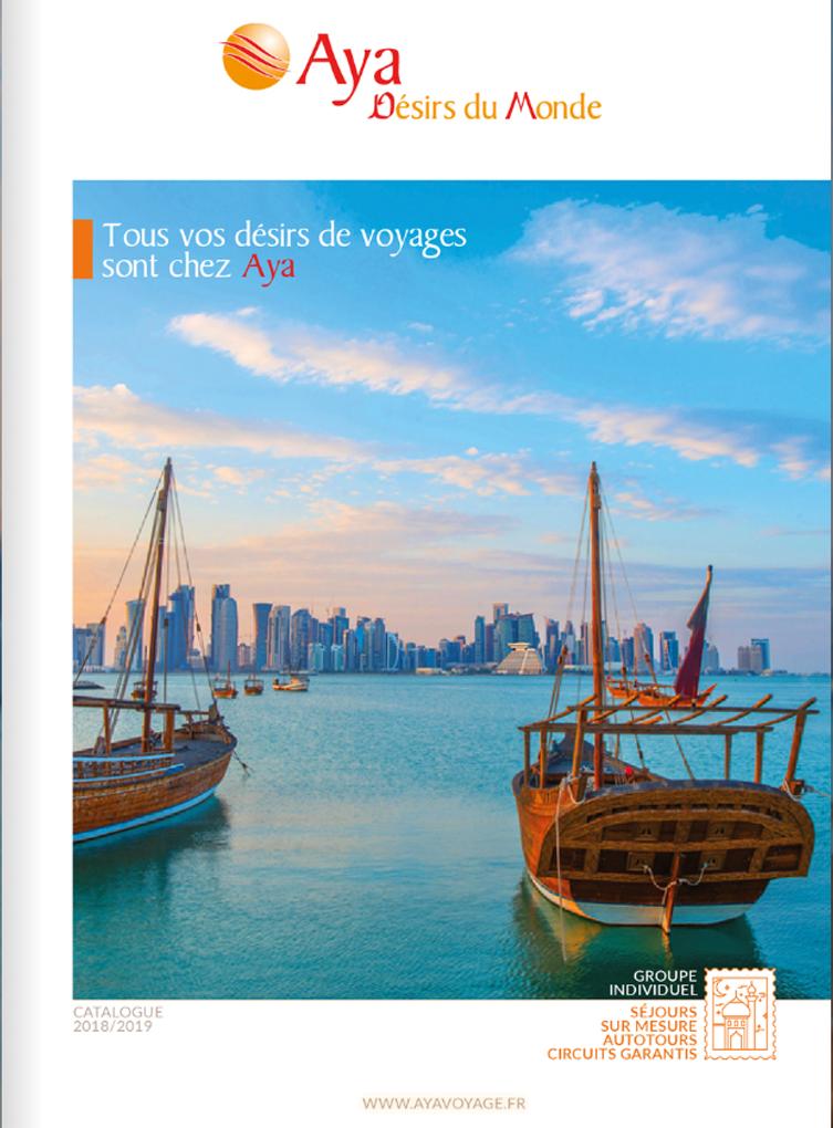 Brochure Aya Desirs du Monde