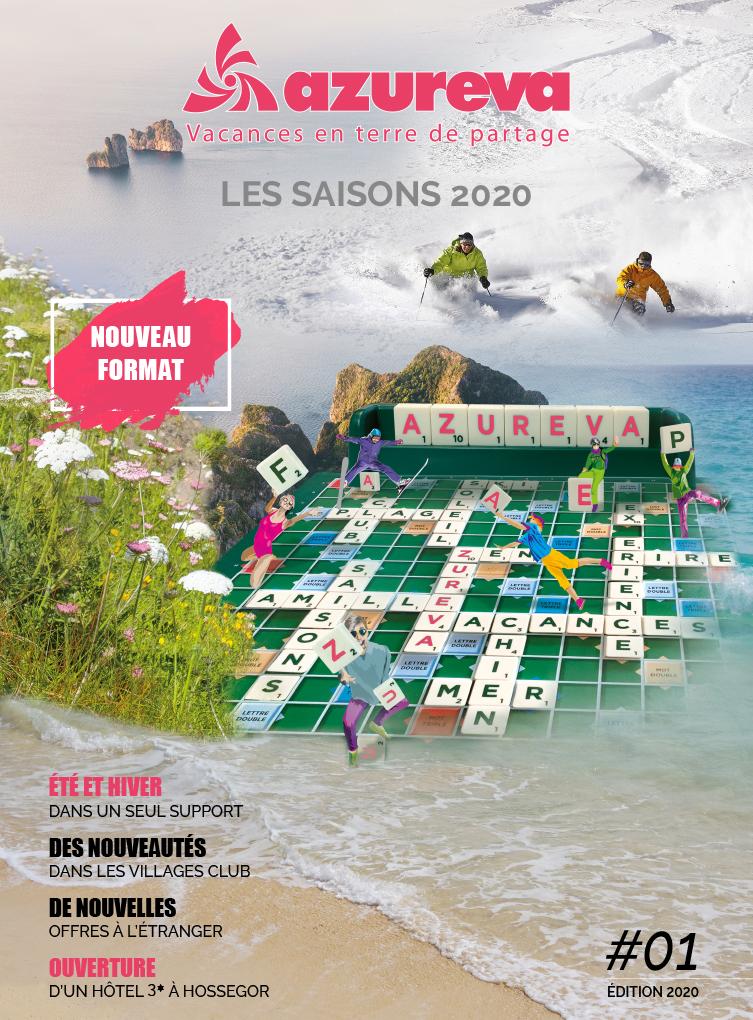 Brochure azureva Saisons 2020