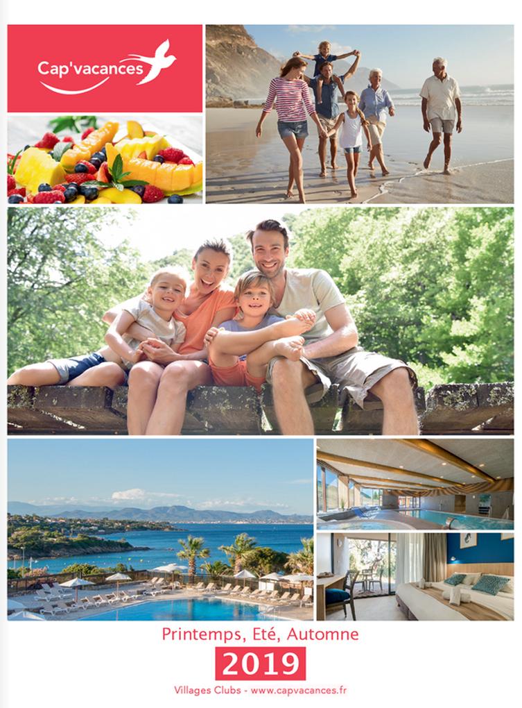 Catalogue Cap Vacances Séjours Eté