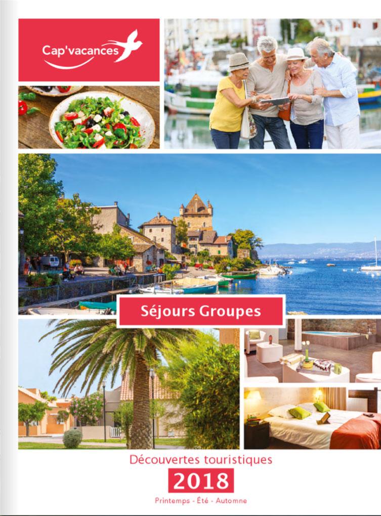 Catalogue Cap Vacances Groupes Découvertes