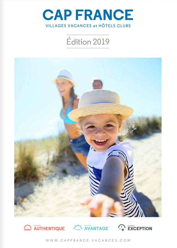 Catalogue des villages vacances et hôtels clubs Cap France été