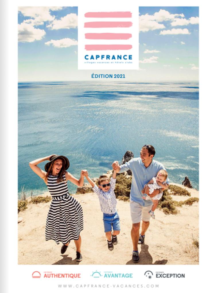 Brochure Cap France Séjours Eté