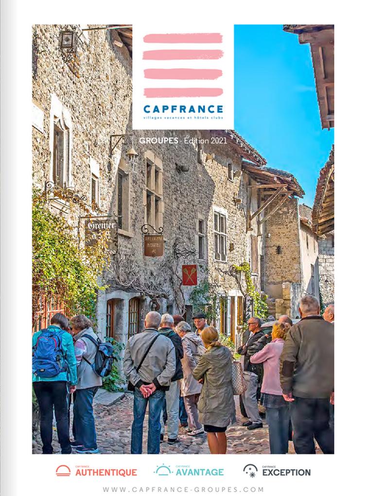 Guide Cap France Séjours Groupes