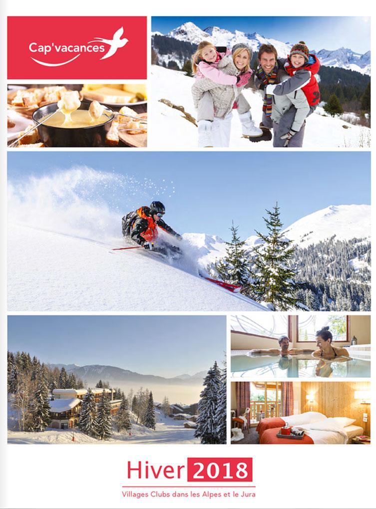 Catalogue Cap'vacances Séjours Hiver