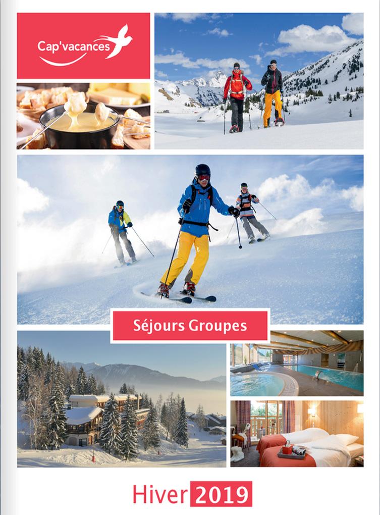 Catalogue Cap Vacances Groupes Hiver