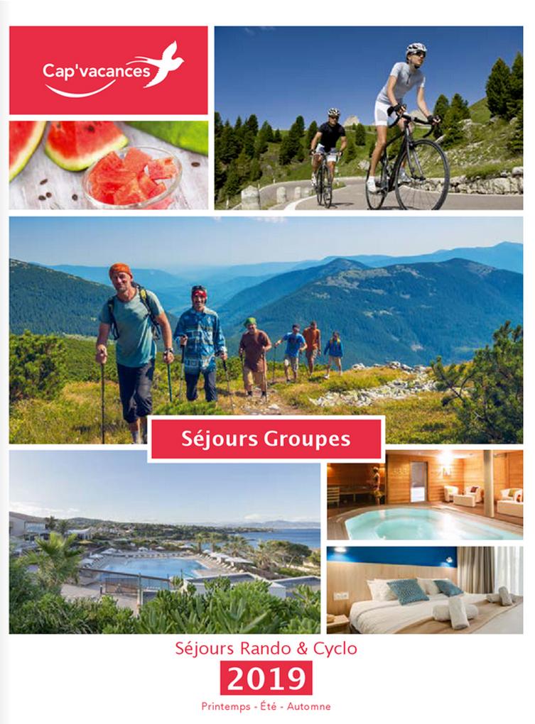 Catalogue Cap Vacances Groupes Rando Cyclo