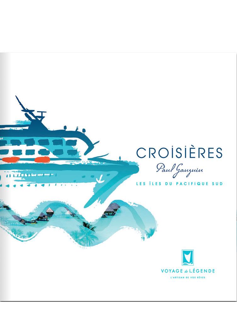 La brochure des Croisières Paul Gauguin