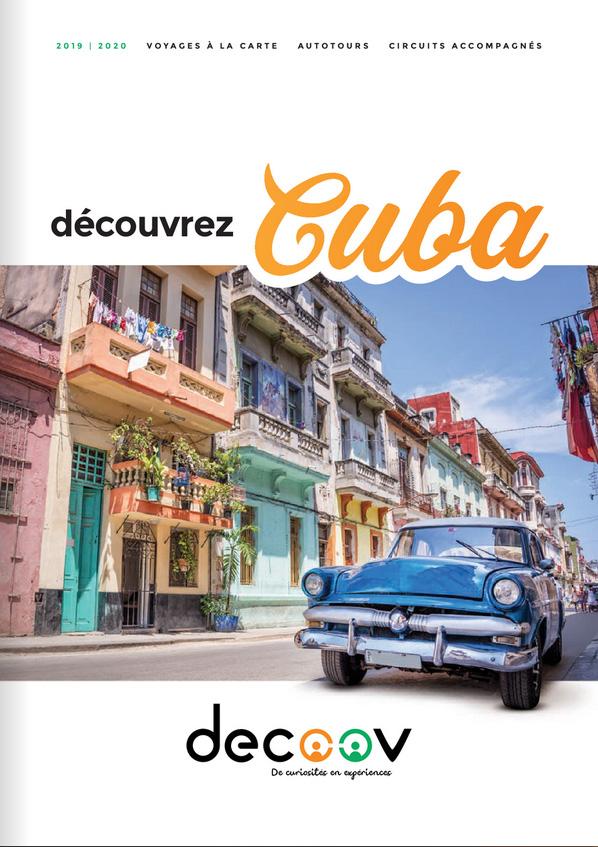 Brochure decoov Cuba 2019 / 2020