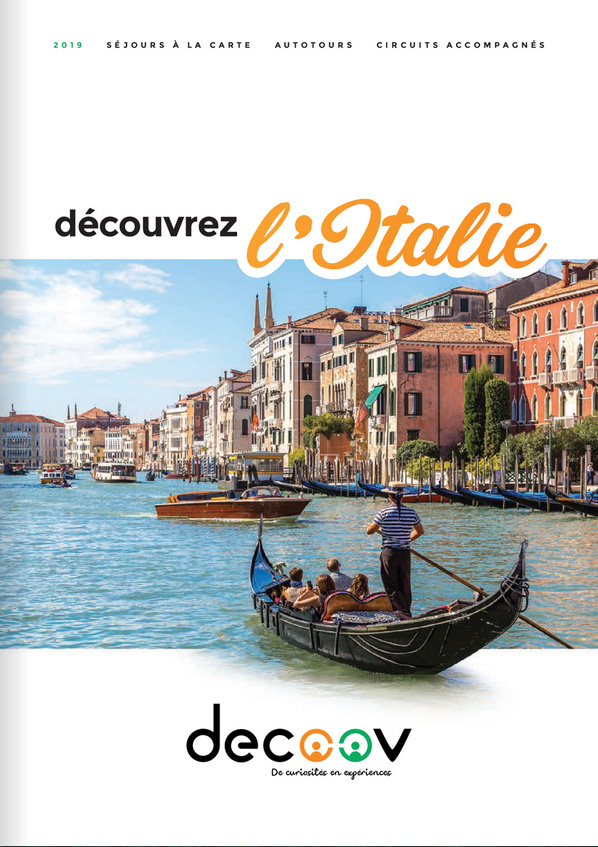 Brochure decoov Italie 2019