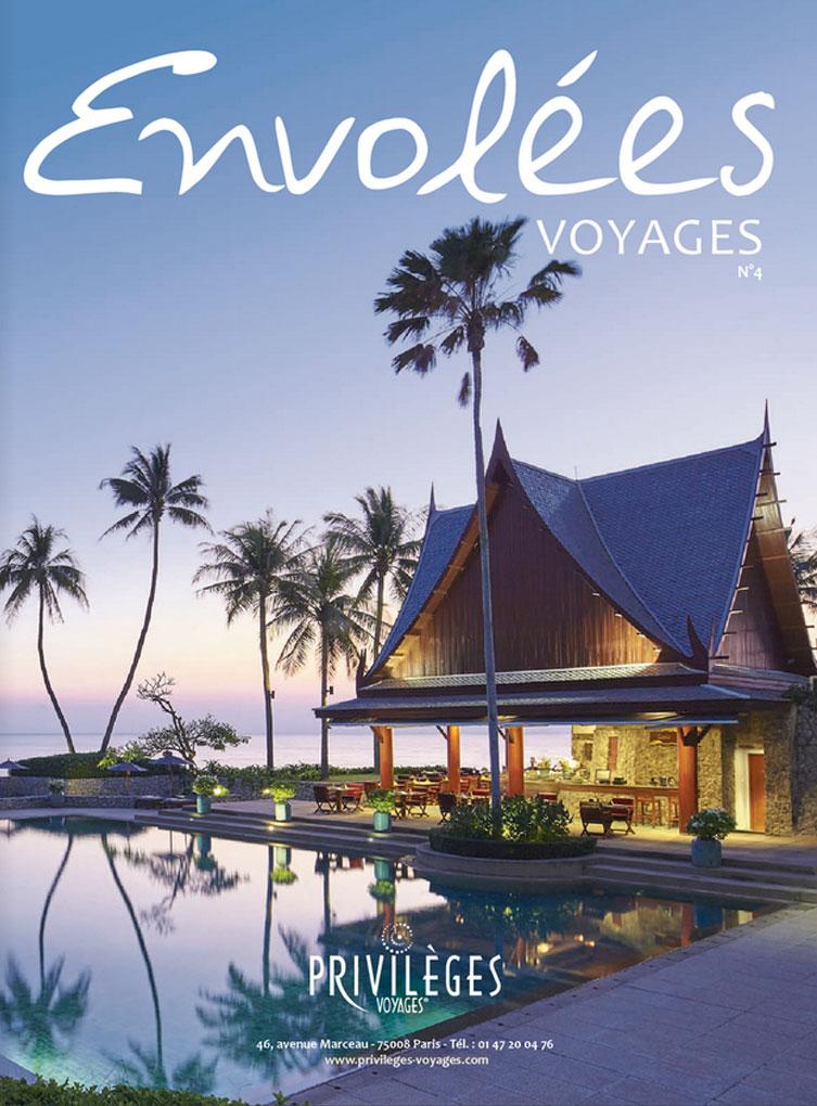Envolées le magazine de Privilèges Voyages