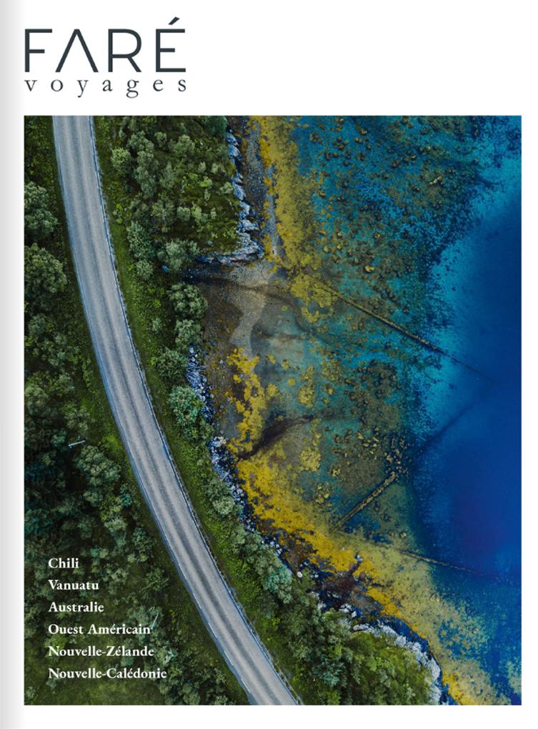 brochure Faré Voyages Pacifique