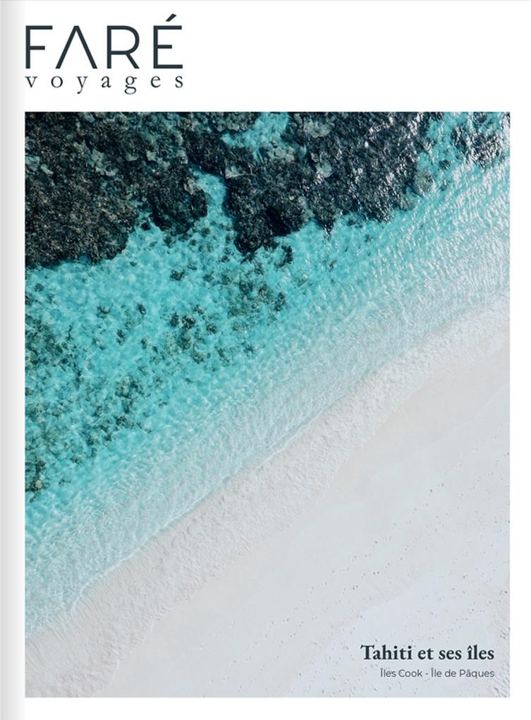 brochure Faré Voyages Tahiti et ses îles