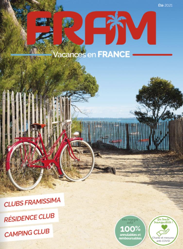 Brochure FRAM Vacances en France Eté