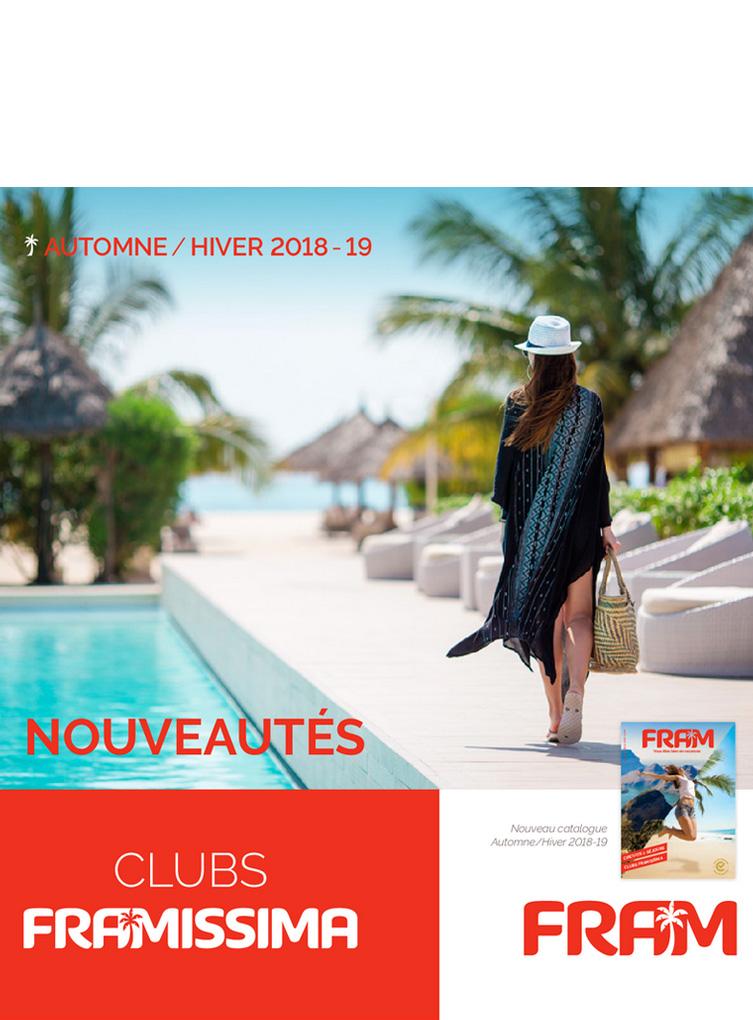 Catalogue nouveautés Clubs FRAMISSIMA Hiver