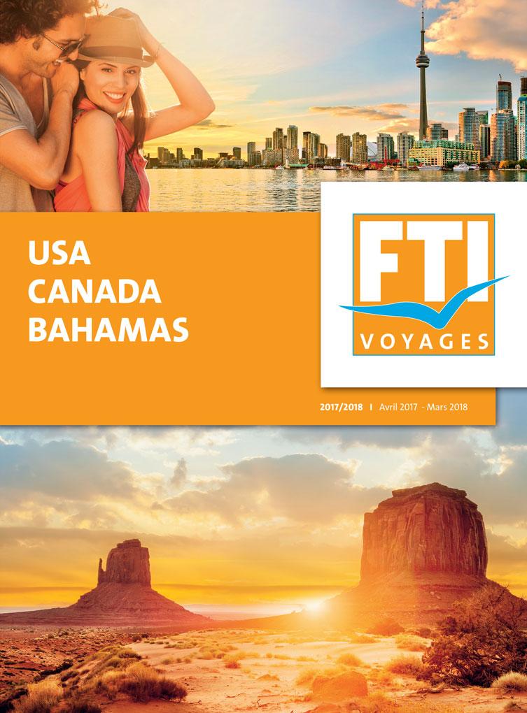 Brochure FTI VOYAGES USA Canada Bahamas