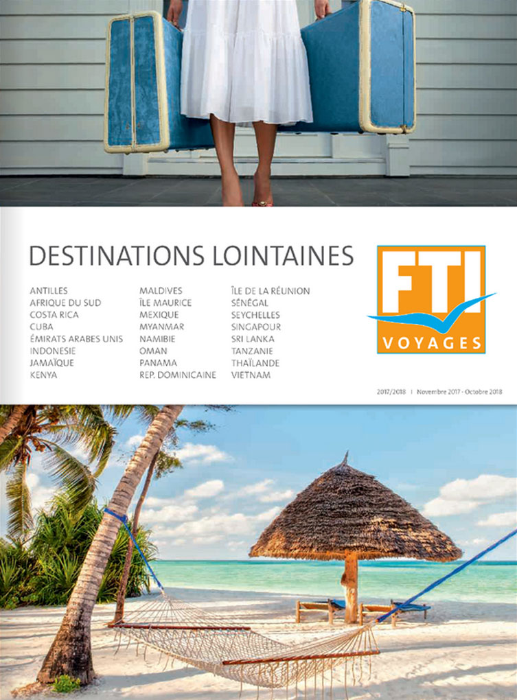 FTI Voyages Catalogue Destinations lointaines