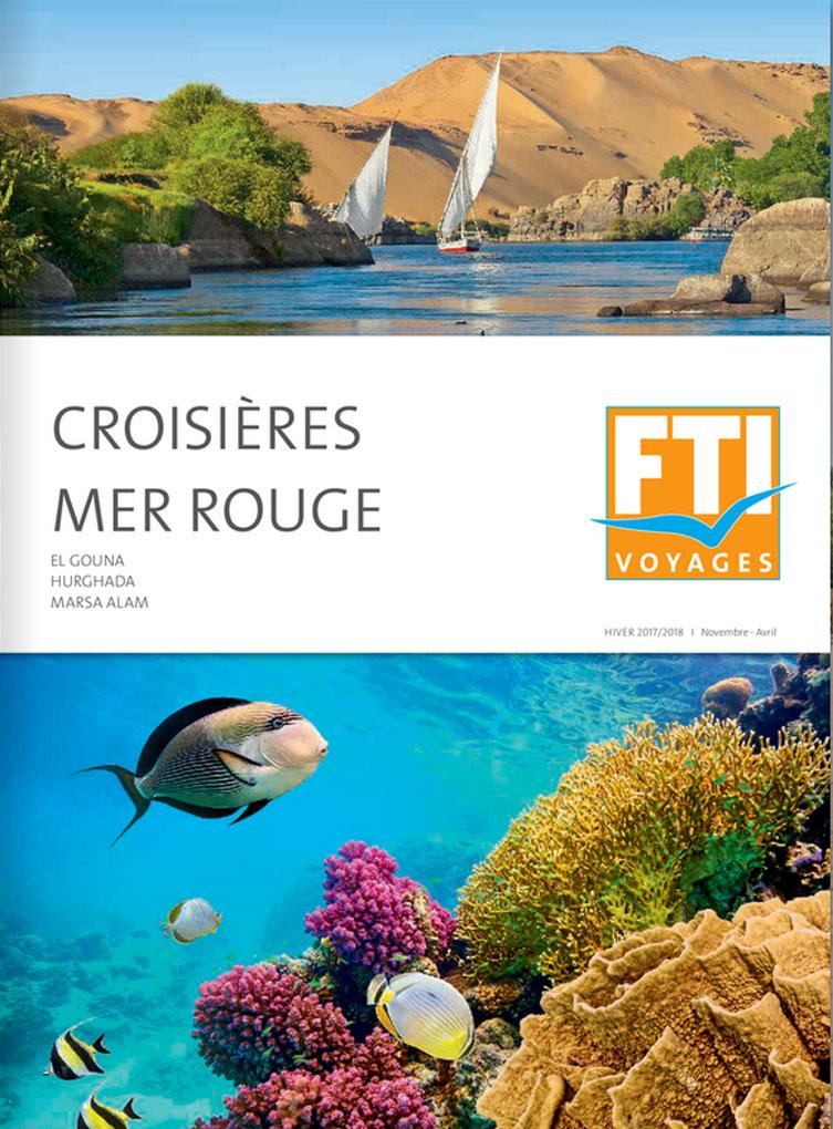 Brochure FTI VOYAGES Mer Rouge et croisières Hiver