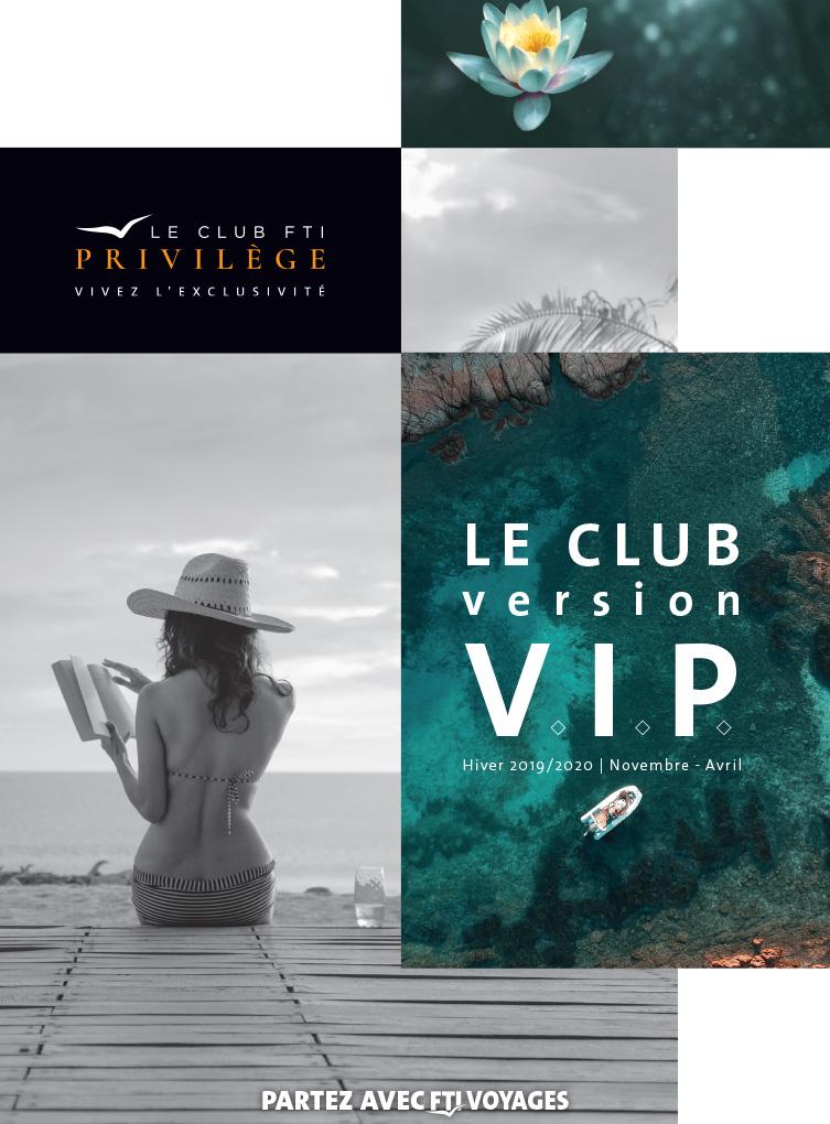 Brochure club FTI Privilège