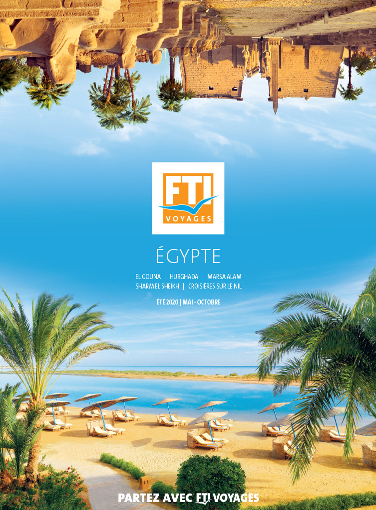 Catalogue annuel FTI VOYAGES Egypte