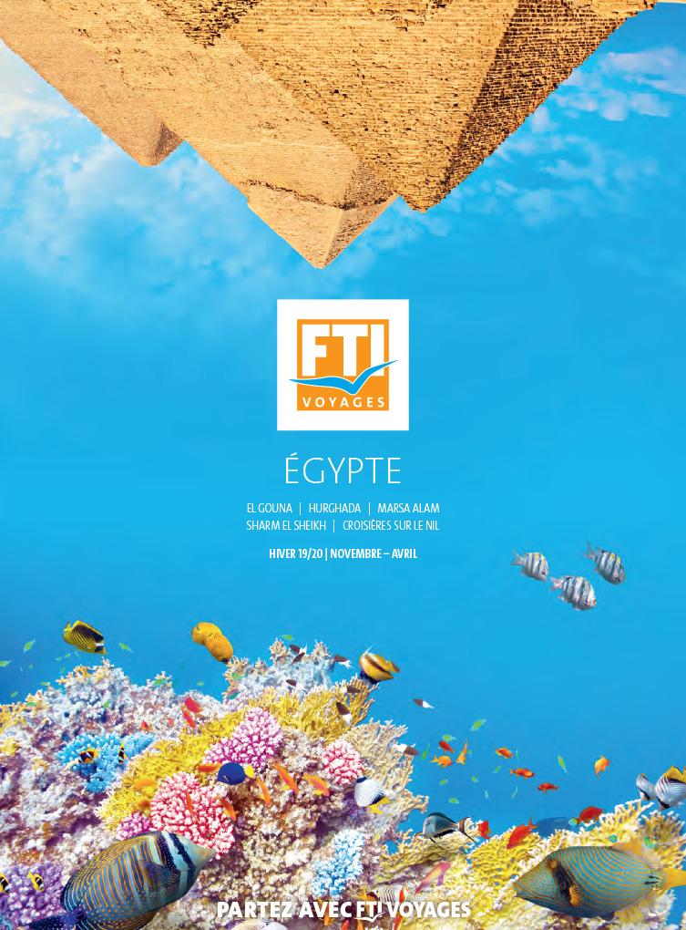 Brochure FTI VOYAGES Séjours en Egypte Hiver