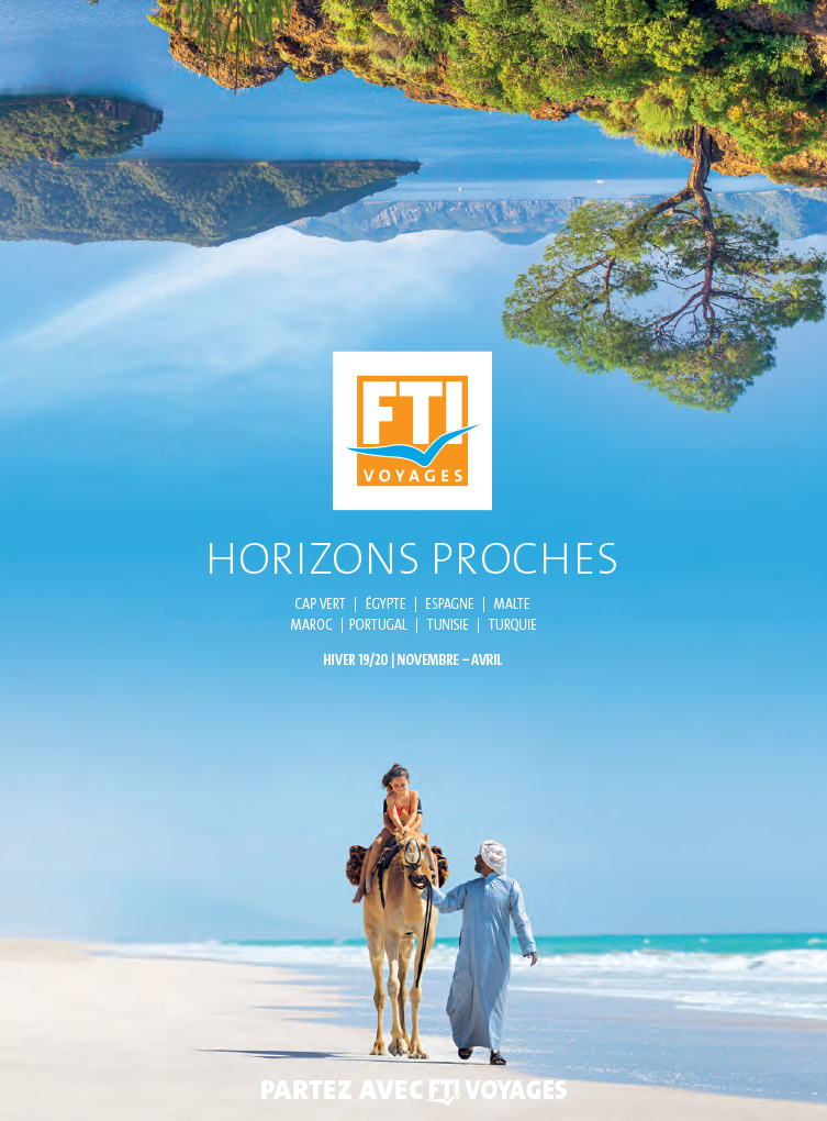 FTI Voyages Catalogue Horizons proches