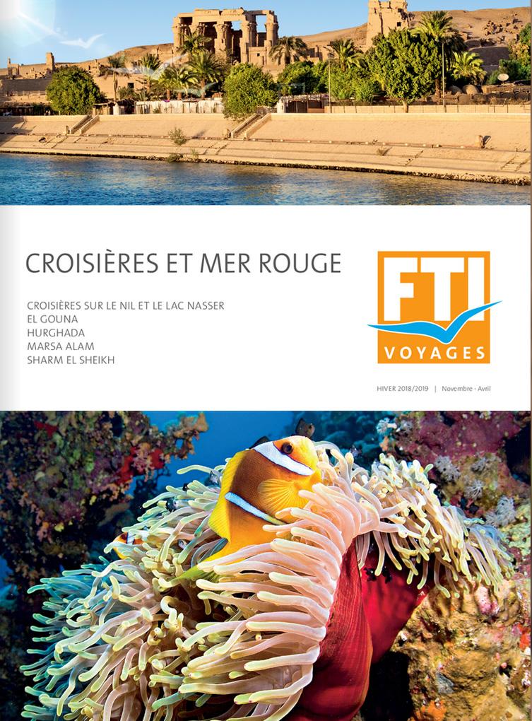 Catalogue Egypte FTI Voyages