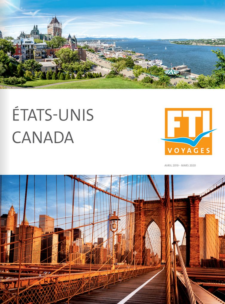 Brochure annuelle FTI VOYAGES USA Canada