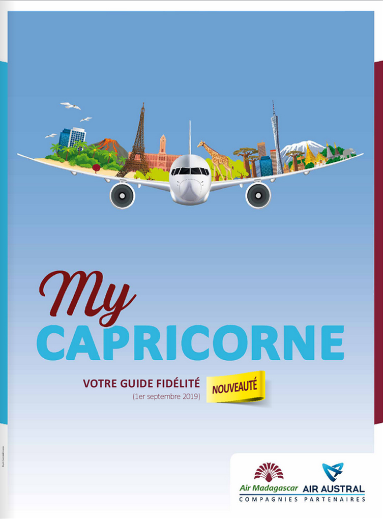 Guide MyCapricorne - Air Madagascar Air Austral