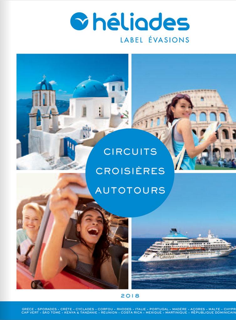 Brochure Héliades Circuits Croisières Autotours
