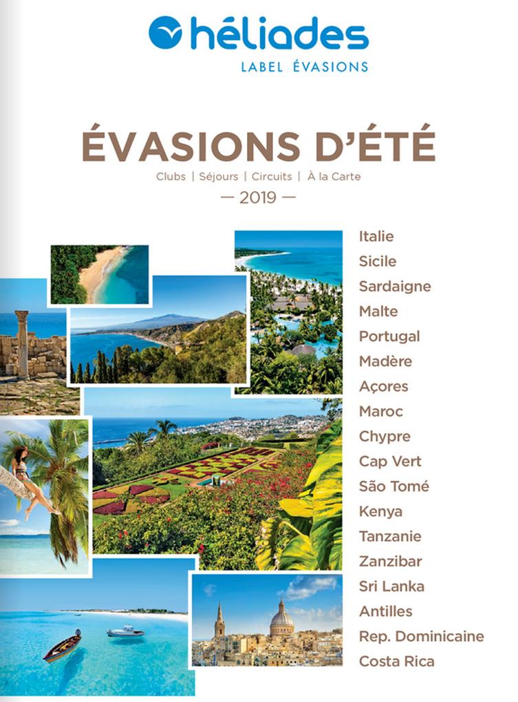 Brochure HELIADES Evasions d'Eté