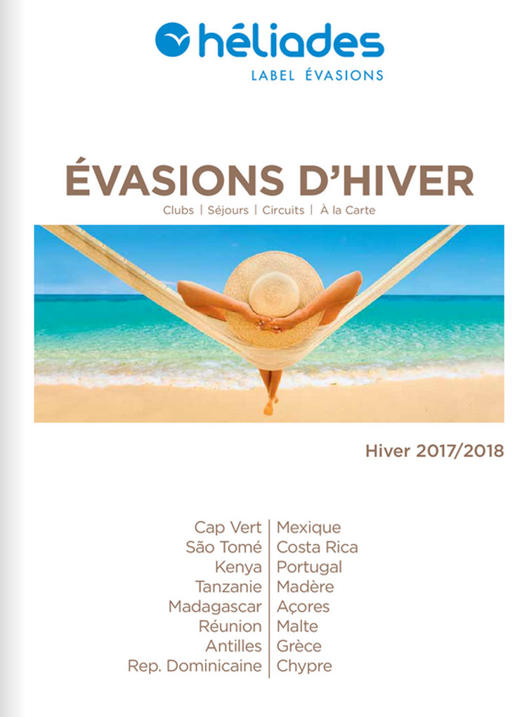 Brochure HELIADES Evasions Hiver