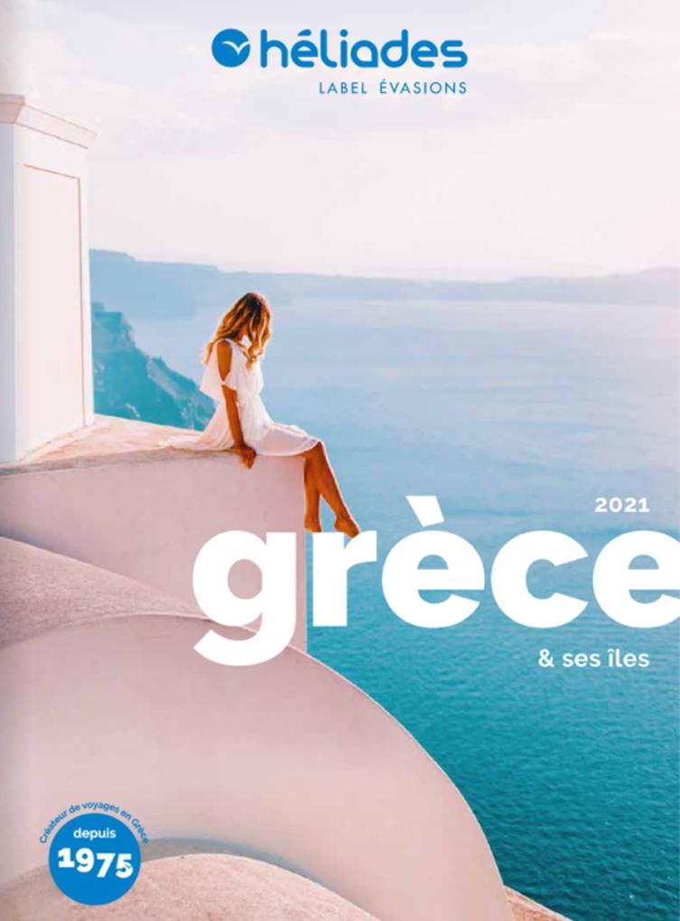 Brochure HELIADES Grèce et ses iles