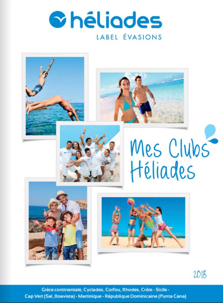 Mes clubs Héliades - 2018