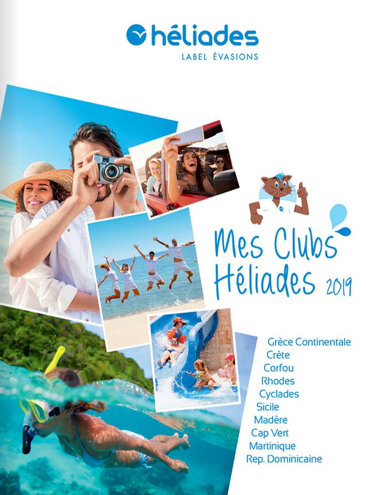 Brochure Mes clubs Héliades 2019
